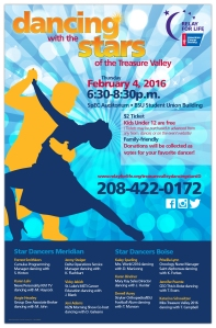0088.80 Dancing with the Stars Boise Poster
